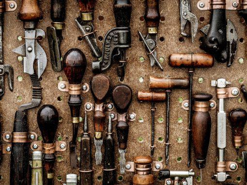 Werkzeugwand im heimatWERK