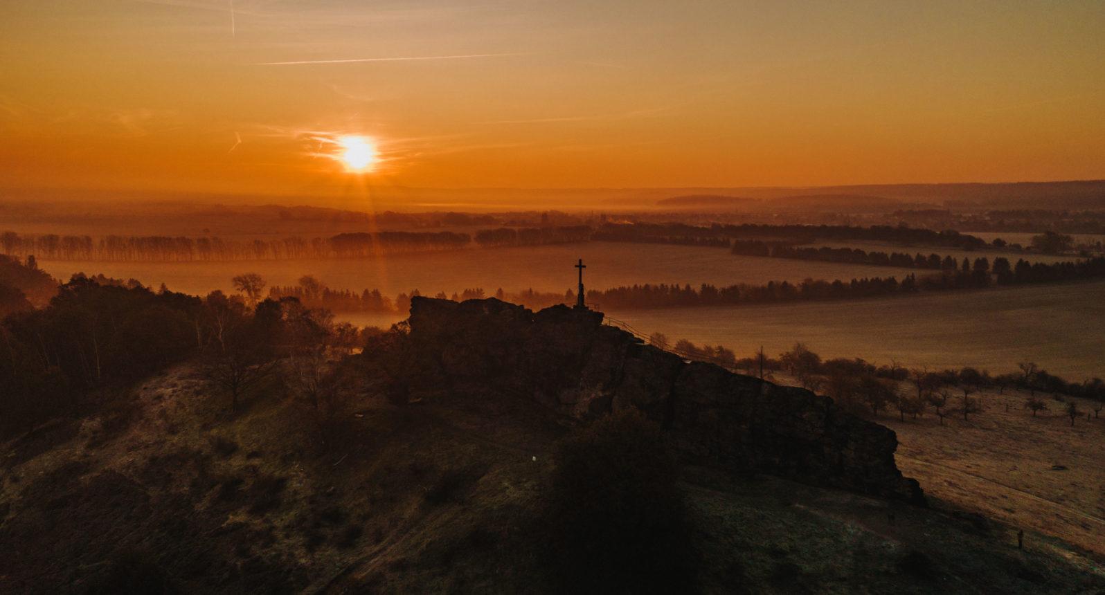 Sonnenaufgang am Gegenstein